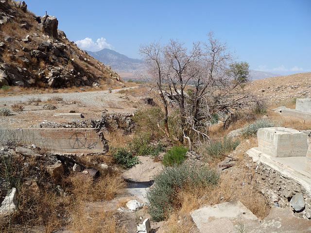 Colorado River Aqueduct at Mt San Jacinto (0408)