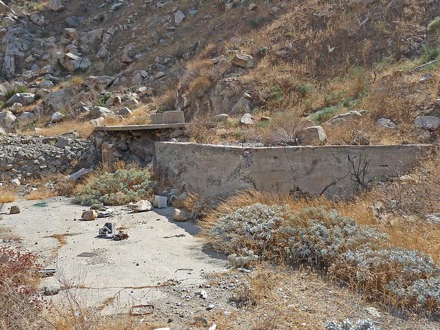 Colorado River Aqueduct at Mt San Jacinto (0411)