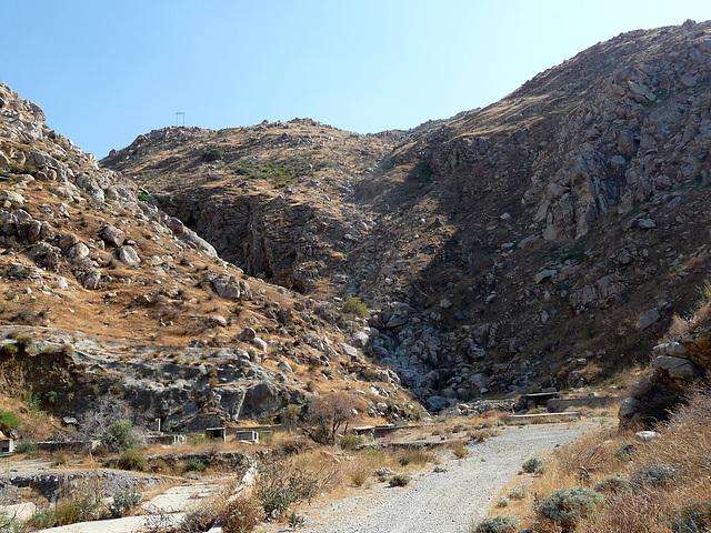 Colorado River Aqueduct at Mt San Jacinto (0425)