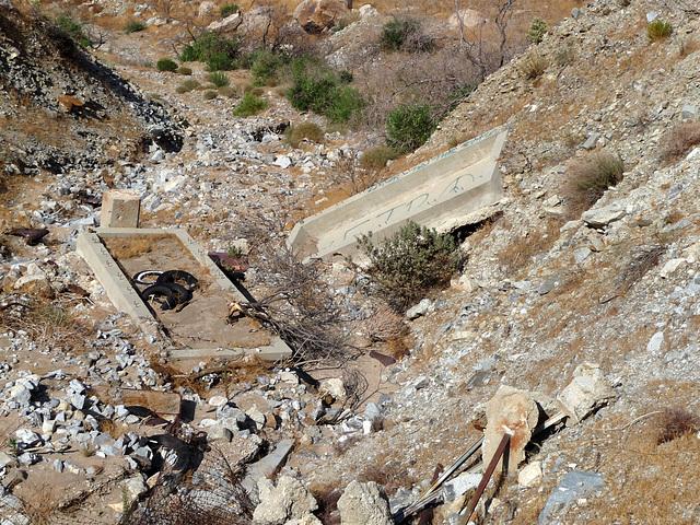 Colorado River Aqueduct at Mt San Jacinto (0427)