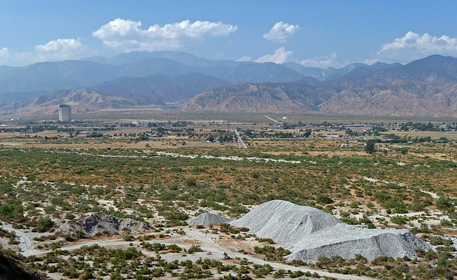 Morongo Casino Viewed From Colorado River Aqueduct at Mt San Jacinto (0420)