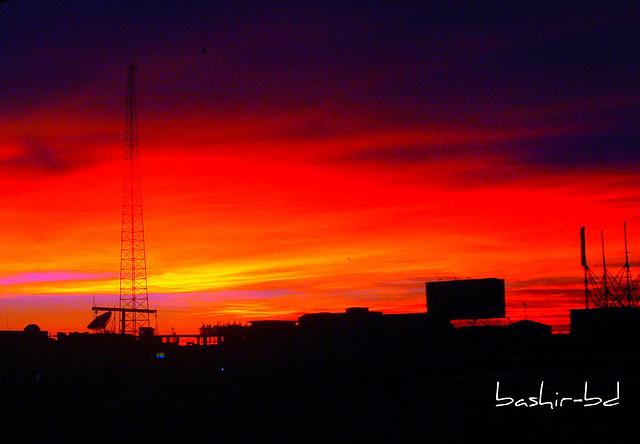 Sunset 2  July 13, 2009 ( 19:07:34 BDT)