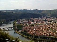 Cahors vu du Mont Saint Cyr