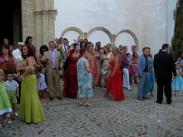 Jerez de la Frontera, Andalusia's wedding, the guests (2)