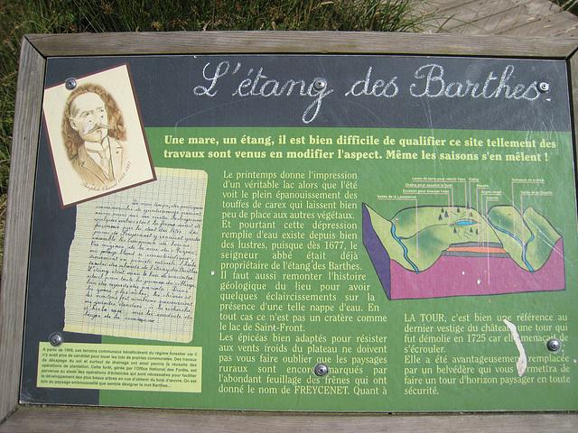 Etang des Barthes