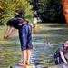 Baigneur s'apprêtant à plonger, œuvre de Gustave Caillebotte