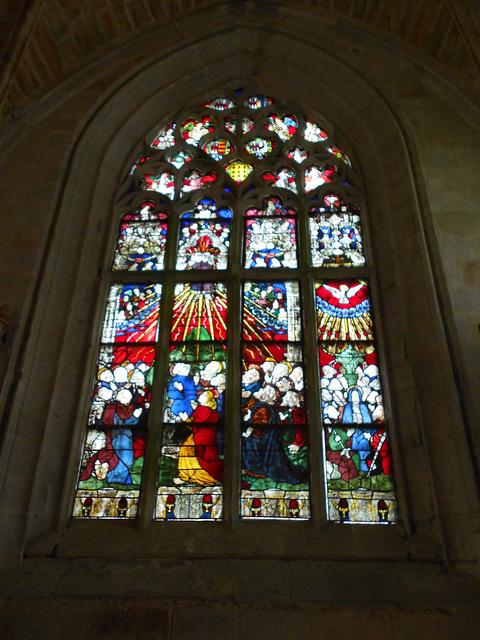 vitrail chapelle STE BARBE