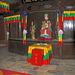 Inside a Naxi tempel Wen Chang Gong in Baisha