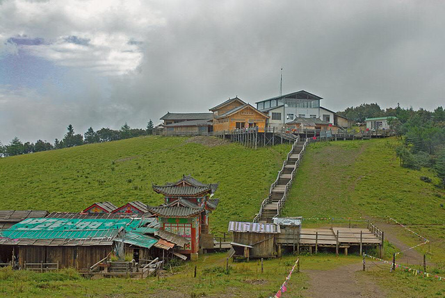 Top station of the cable car