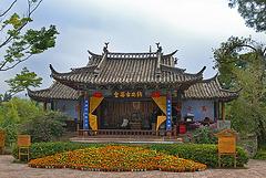 Lijiang tea pavillon
