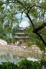 Lijiang Black Dragon Pool and a Pavillon