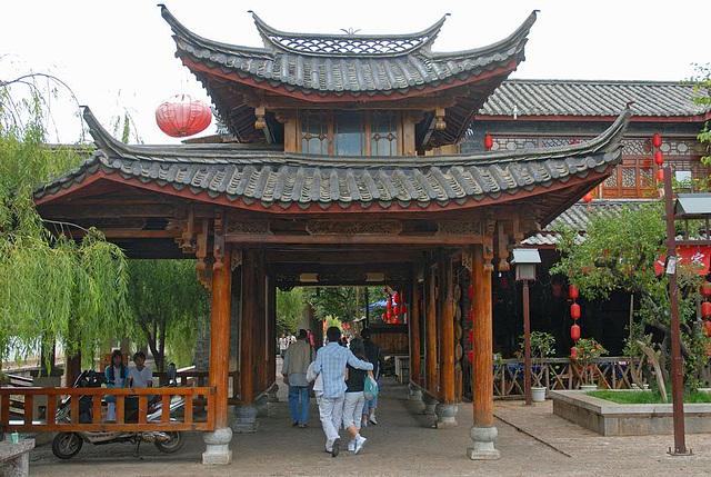Entrance to the Dragon Pool Garden