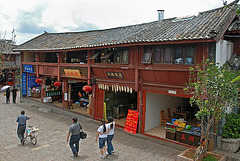 Typical house in Lijiang