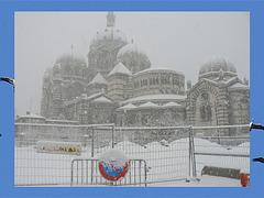 Neige sur Marseille, janvier 2009