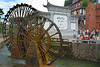 Big water wheel at the entrance of the Old Town Lijiang