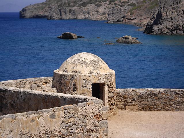 Crète Spinalonga l'île aux lèpreux
