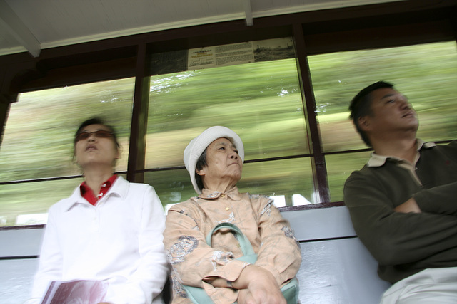 Speed im Zug
