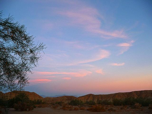 Mecca Hills at Dawn (0509)