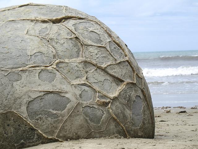 Runde Steine (Moeraki Boulders)