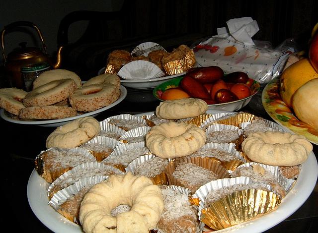 Les pâtisseries d'Assia
