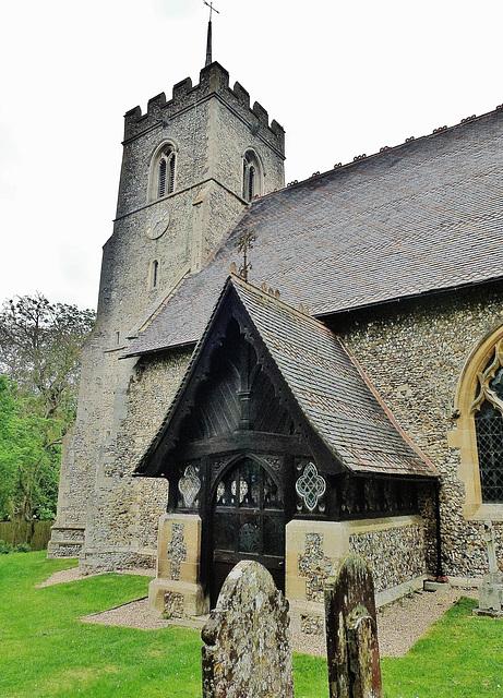 brent pelham church, herts.