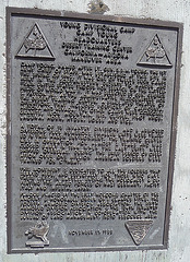 Camp Young Plaque (0480)