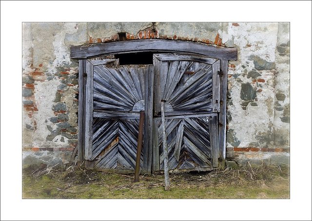 old door beauty