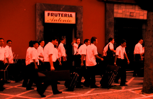 Jerez de la Frontera, band's preparation