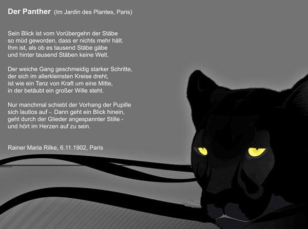 Rilke: Der Panther, 06.11.1902, Paris