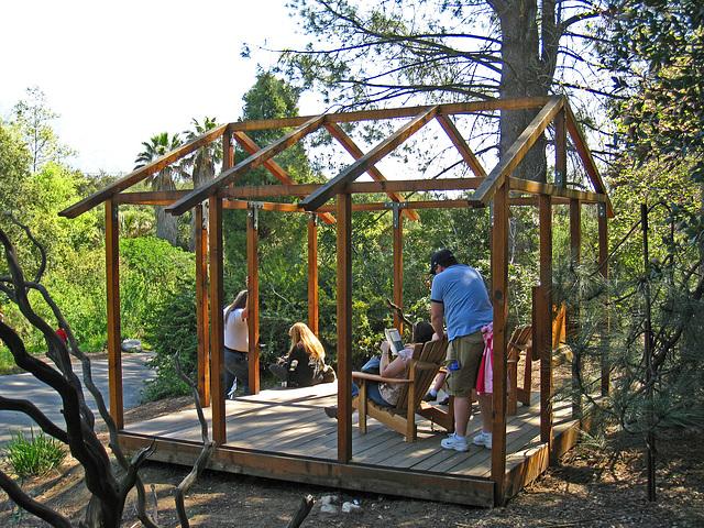 Descanso Gardens Minimalist Pavilion (2274)