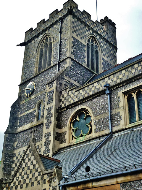 john the baptist's church, high barnet, herts.