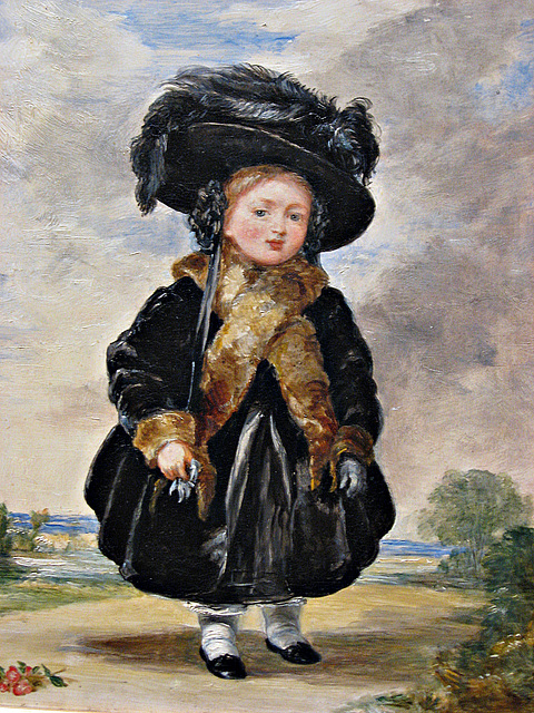 Queen Victoria as a child
