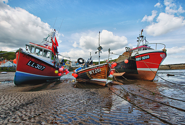 Low Tide Staithes