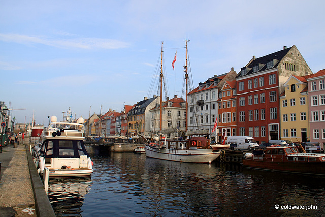 Canal scene, Copenhagen