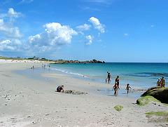Strand von Lesconil - Bretagne