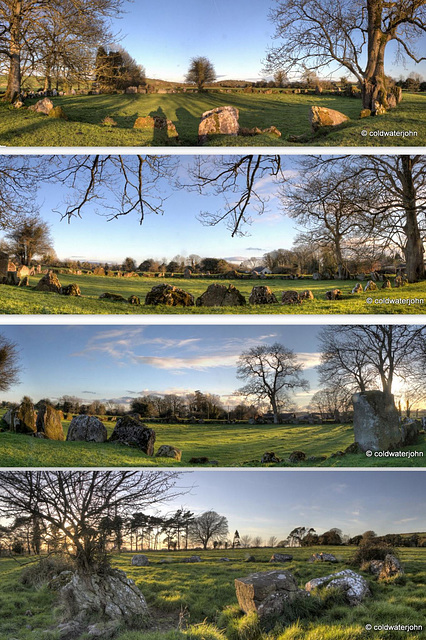 Collage The Great Stone Circle of Grange, Lough Gur 7008024809 o