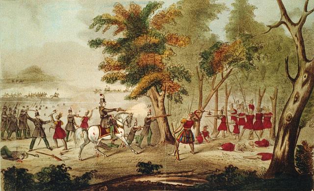 Mort de Tecumseh