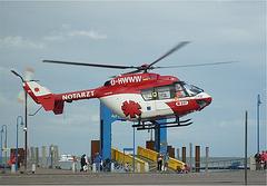 Savhelikoptero / Rettungshubschrauber Amrum