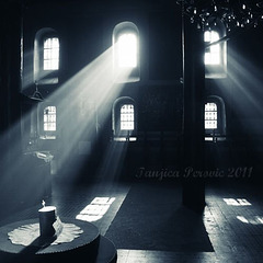 Nativity church in Pirot, Serbia. The Inviting Lights.