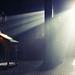 Light Streaming into Church