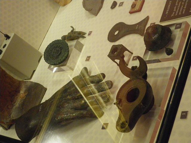 Chesters : objets votifs