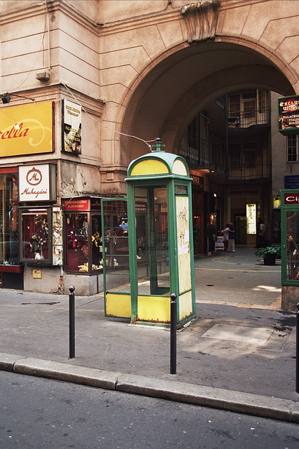 Budapest telephone booth