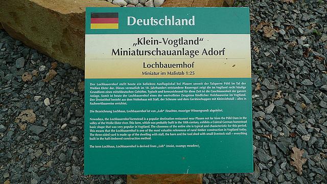 """Leihgabe """"Klein-Vogtland"""""""