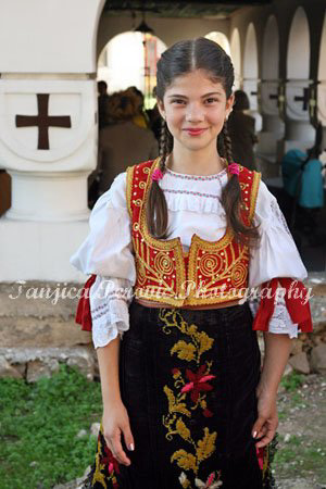 Serbian national costume, Pirot, Serbia