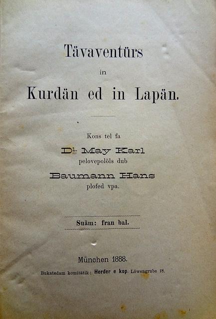Karl May en Volapük