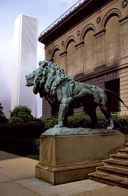 The Lion and the Skyscraper
