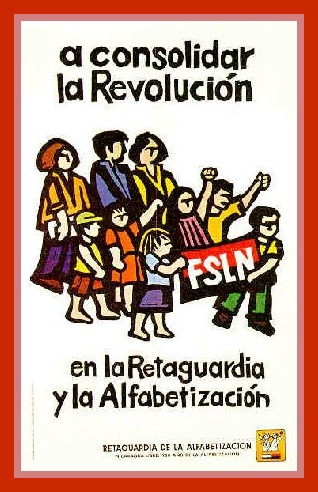 Affiche au Nicaragua