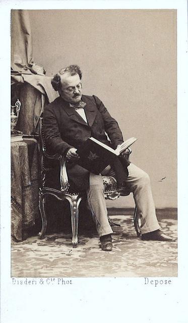 Gilbert-Louis Duprez by Disdéri (1)