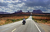 Approaching Monument Valley
