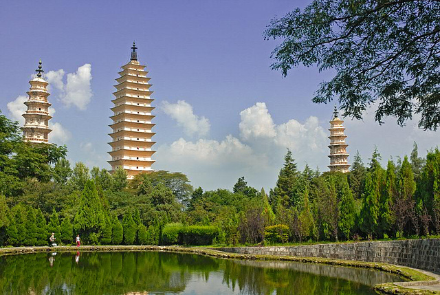 The Three Pagodas